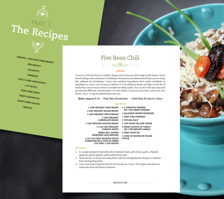 Best practices for designing your cookbook